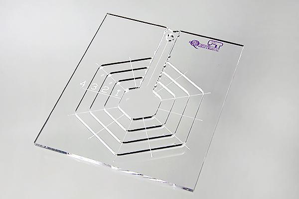 Nested Mini Hexagons