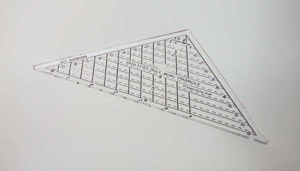6 inch Right Triangle