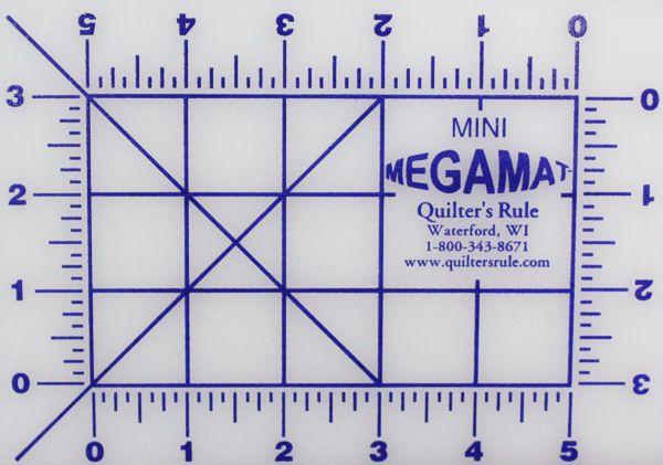 5x7 Pinnable mat