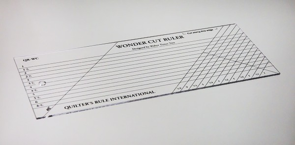 Quilter's Rule Wonder Cut Ruler