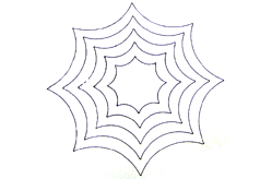 Nested Mystifying Spider Web